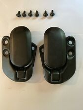 mazda mx5 mk1  Pair Of Black  Front Soft Top Catches