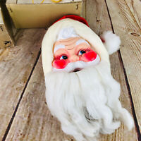 Vintage Merry Musical Santa Pull Ball Clapper TC Wind Musical Movement