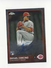 2015 Topps Chrome Rookie Daniel Corcino RC Rookie AUTOGRAPH Reds