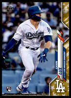 2020 Topps Gold Stars #292 Gavin Lux NM-MT Los Angeles Dodgers Rookie RC ID:831
