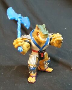 "TMNT ""Shogun Shoate"" Teenage Mutant Ninja Turtles With BLUE double dragon axe."