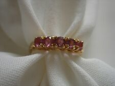 925 Ring Size 6 Free Shipping Nos Vintage Vermeil Silver Gold Over Sterling