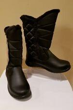 TOTES Women's Waterproof Winter Black Boots US Sz 11M~Warm & Comfortable