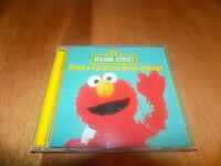 SESAME STREET ELMOS FAVORITE SING ALONGS Elmo PBS Song 13 Songs Music Rare CD