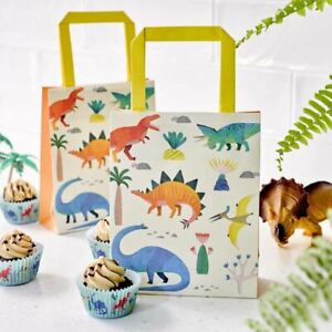 Dinosaur Birthday Party Bags | Childrens Boys Favours Sweet Treats x8
