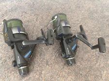 a pair of Daiwa BR 2650X bait runner Fishing Reels , carp / big fish reels x 2