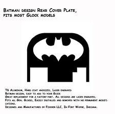 NEW Batman Design Rear Slide Plate Cover Glock 17 19 21 22 23 27 30 34 36 40 41
