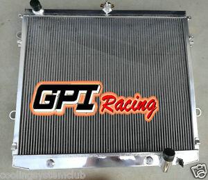 FOR TOYOTA Landcruiser 200 Series 07-10 08 4.7L V8 Petrol  Aluminum Radiator