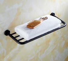 SUS 304 Bath Towel Rack Holder Bathroom Accessory Wall Storage Hanger Shelf 40cm