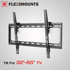 "Tilting LCD LED ultra HD TV Wall Mount Bracket 32""37 39 40 42 46 50"" 55"" 60"" 65"""