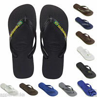 Havaianas Flip Flops Brasil Logo Top Unisex Summer Beach Sandals All Sizes