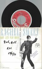 """7""""   Rachel Sweet – Baby Let's Play House //PROMO BACKCOVER"""