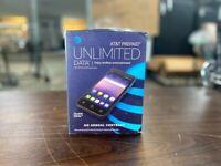 AT&T Prepaid Unlimited Data samsung Galaxy J2 Dash, No Credit Check or Contract