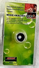 DETACHABLE LENS FOR YOUR MOBILE PHONE AND DIGITAL CAMERA, WIDE & MACRO LENS
