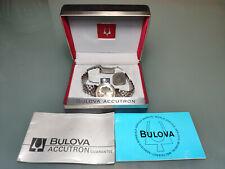 Watch Bulova Accutron 214 Diapason SWISS MADE JB Champion strap NOS CONDITIONS