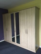 """Very good quality fitted wardrobes """"Milan"""" 6door 2 of them mirror"""
