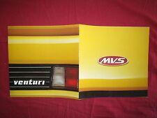 N° 2050 B / grand catalogue couleurs MVS Venturi , coupé 2 portes 2 places