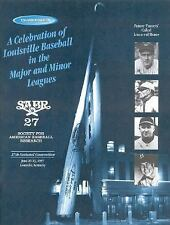 A Celebration of Louisville Baseball in the Major and Minor Leagues: Souvenir Ed