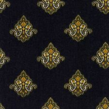Waverly EAGLE CREST BLACK Gold Home Decor Drapery Upholstery Sewing Fabric