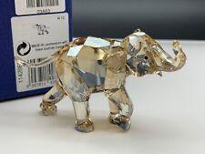 Swarovski Figura 1142862 Cinta Elefante 2013 Animale Giovane 9 Cm. con Conf. &
