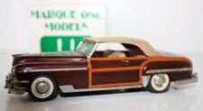 MARQUE ONE MODELS 1/43 - 11 - 1949 CHRYSLER TOWN & COUNTRY