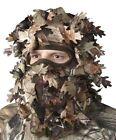Realtree Camo Green Leafy Head Net Face Mask Cammo Headnet Hunting Camouflage