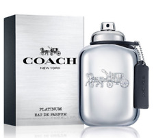 New Men Coach New York Platinum 3.3 3.4 oz 100 ml Eau de Parfum Spray New in Box