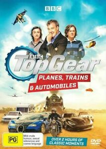 Top Gear - Planes, Trains And Automobiles : NEW DVD