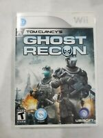 Tom Clancy's Ghost Recon (Nintendo Wii, 2010) Free Fast Shipping