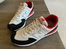 AUTHENTIC New Balance 574 90s White Black Red Running Shoes Men size 12