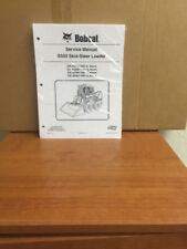 Bobcat S550 Skid Steer Loader Service Manual Shop Repair Book 1 Part # 6989494