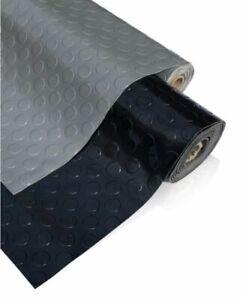 PVC Flooring Garage Sheeting Matting Rolls 1M Wide No smell as Rubber Flooring