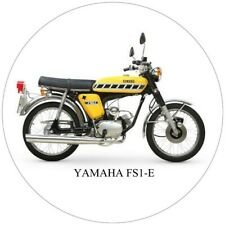"""X2 YAMAHA STICKERS DECALS FS1E RD 400 ICONIC BIKES QUALITY GLOSS VINYL 100MM  4"""""""