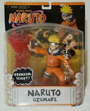 2006 Mattel Shonen Jump's Naruto - Naruto Uzumaki Premium Sculpt Figure NEW
