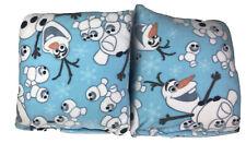 Disney Frozen Olaf Light Blue Homemade 17x17in Pillows Home Decor 2 In A Set