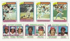 Topps Not Authenticated 1980 Season Baseball Cards