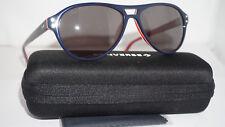 CONVERSE Sunglasses Aviator Navy Stripe Black Iridium Y006 UF 56 15 145