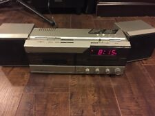 Vintage 80's - GE General Electric (7-4960) CASSETTE Tape Clock RADIO