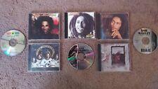 8 Bob Marley & Led Zeppelin CD Lot - Kaya, Legend, Natty Dread, Uprising, IV etc