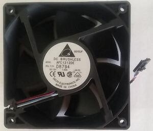 Delta AFC1212DE (D8794/y4574) 120X120X38mm Ball Bearing HI Speed Fan, DELL 5PIN