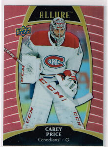 2019-20 UD Allure Sunset E-Pack #11 Carey Price - Montreal Canadiens