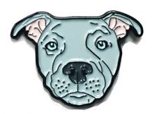 Blue Pitbull American Bully Pit Bull Terrier Breed Dog Lover Enamel Lapel Pin …