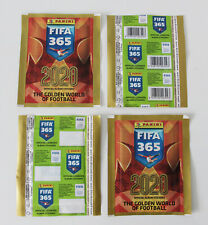 PANINI FIFA 365 2020 | 2 different packets edition BELGIUM | 1x barcode 1x blank