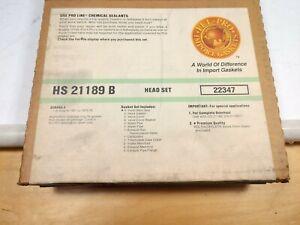 Engine Cylinder Head Gasket Set Fel-Pro HS21189B for Subaru 1.4L 73 to 76