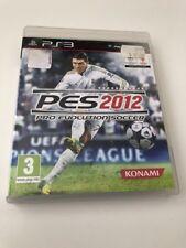 Pro Evolution Soccer 2012 Playstation 3 PS3
