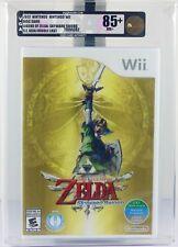 2012 Nintendo WII Legend of Zelda Skyward Sword Video Game - VGA 85+ NM+ Gold