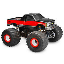 JConcepts 1988 Chevy Silverado Monster Truck Clear Body For Stampede RC Car #332