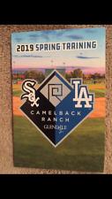 2019 Los Angeles Dodgers Spring Training Pocket Schedule Camelback Ranch