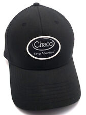 CHACO SANDALS black adjustable cap / hat - cotton blend