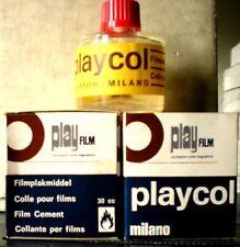 Collante Acetone Film per Giuntare Pellicole 8 mm Super 8 -16 mm 35 mm 2 Flaconi